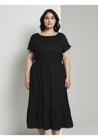 TOM TAILOR MY TRUE ME Sommerkleid »Sommerliches Kleid mit Häkel - Details« kaufen