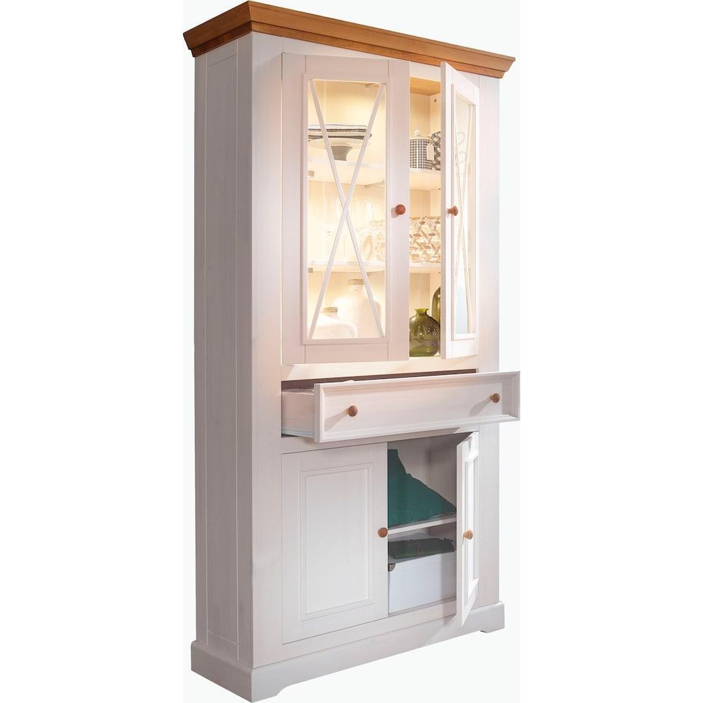 Premium collection by Home affaire Vitrine »Marissa«, im Landhaus-Design