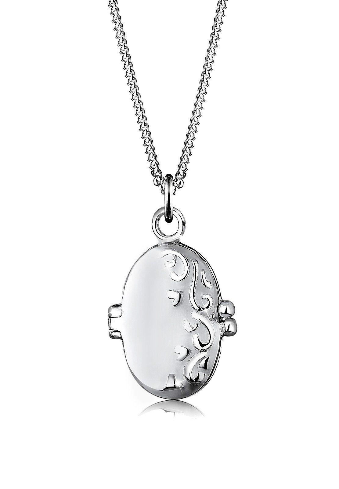 Elli Collierkettchen Medaillon Ornament 925 Sterling Silber Preisvergleich