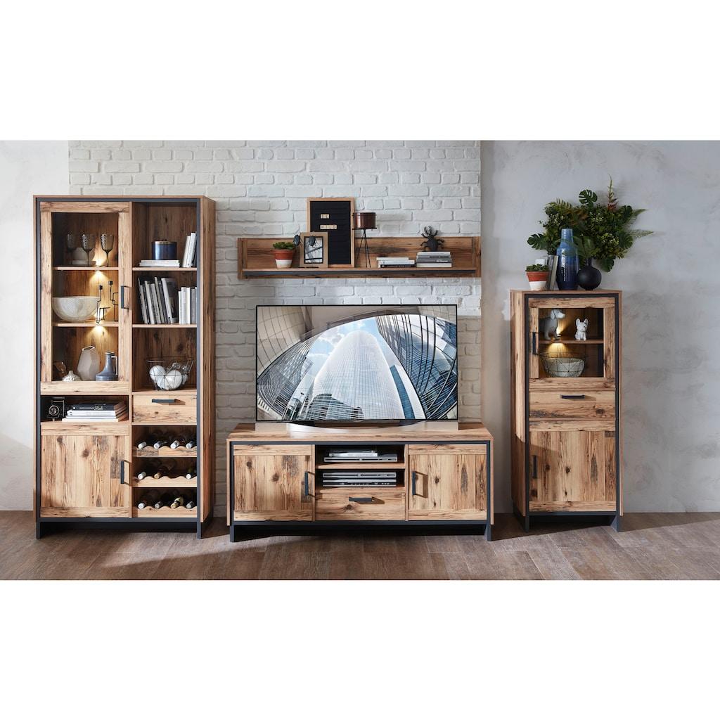 Innostyle TV-Board »Prato«, Breits 155 cm, 2 Holztüren, 1 Schubkasten, 2 offene Fächer