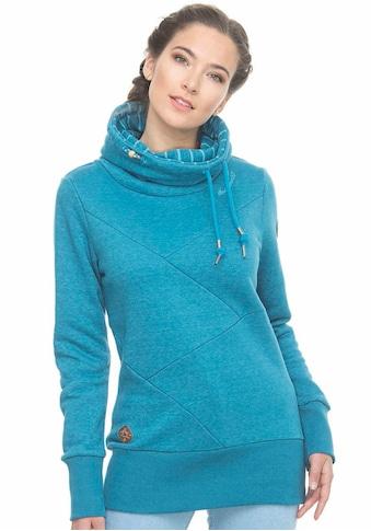 Ragwear Sweater »VIOLA«, mit kontrastfarbigem Schalkragen kaufen