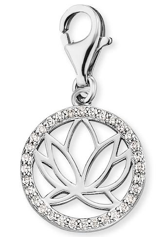 Engelsrufer Charm - Einhänger »Charm Lotus Silber mit Zirkonia, ERC - LOTUS - ZI« kaufen