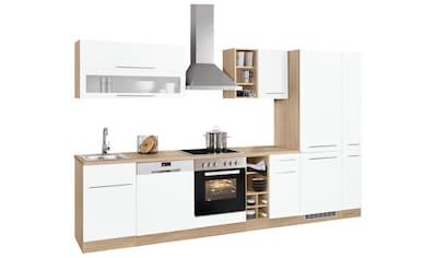 HELD MÖBEL Küchenzeile »Eton«, mit E-Geräten, Breite 330 cm kaufen