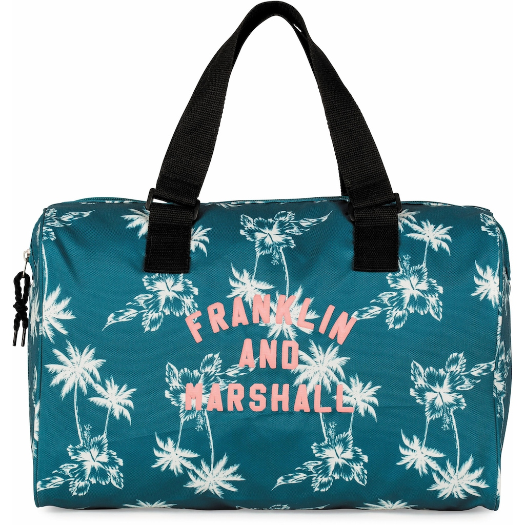 Franklin & Marshall Schultertasche »Girls, Palmen, petrol«