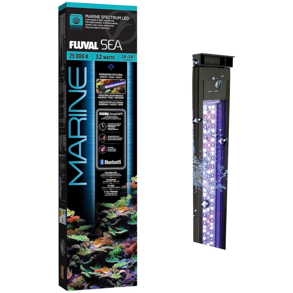FLUVAL LED Aquariumleuchte »FS Marine 3.0 LED«, 61-85 cm