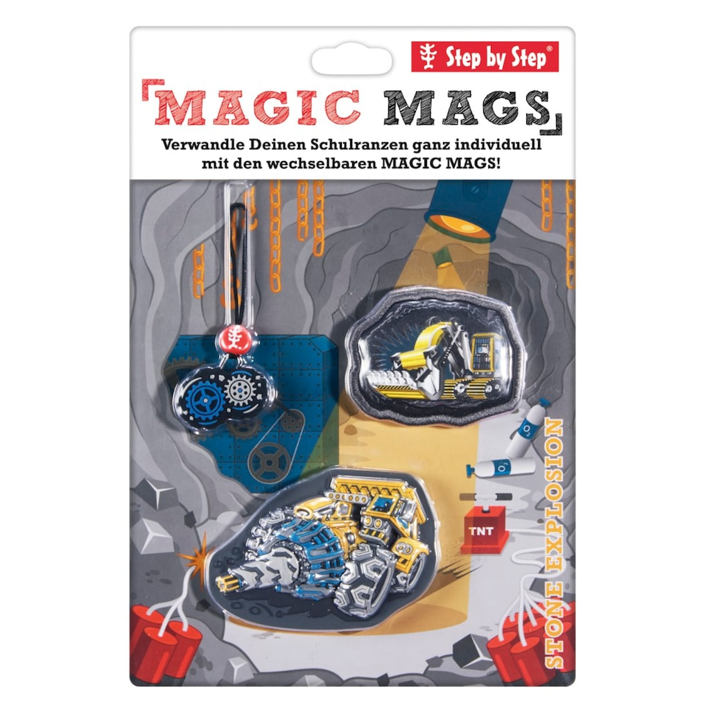"""Step by Step MAGIC MAGS """"Stone Explosion"""""""