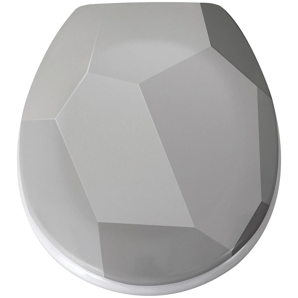 MSV WC-Sitz »ORIGAMI«, Duroplast, mit Softclose