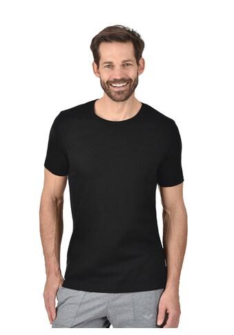 Trigema T - Shirt aus Baumwolle/Elastan kaufen