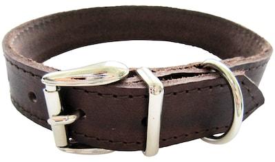 HEIM Hunde-Halsband, Echtleder, Länge: 65 cm kaufen