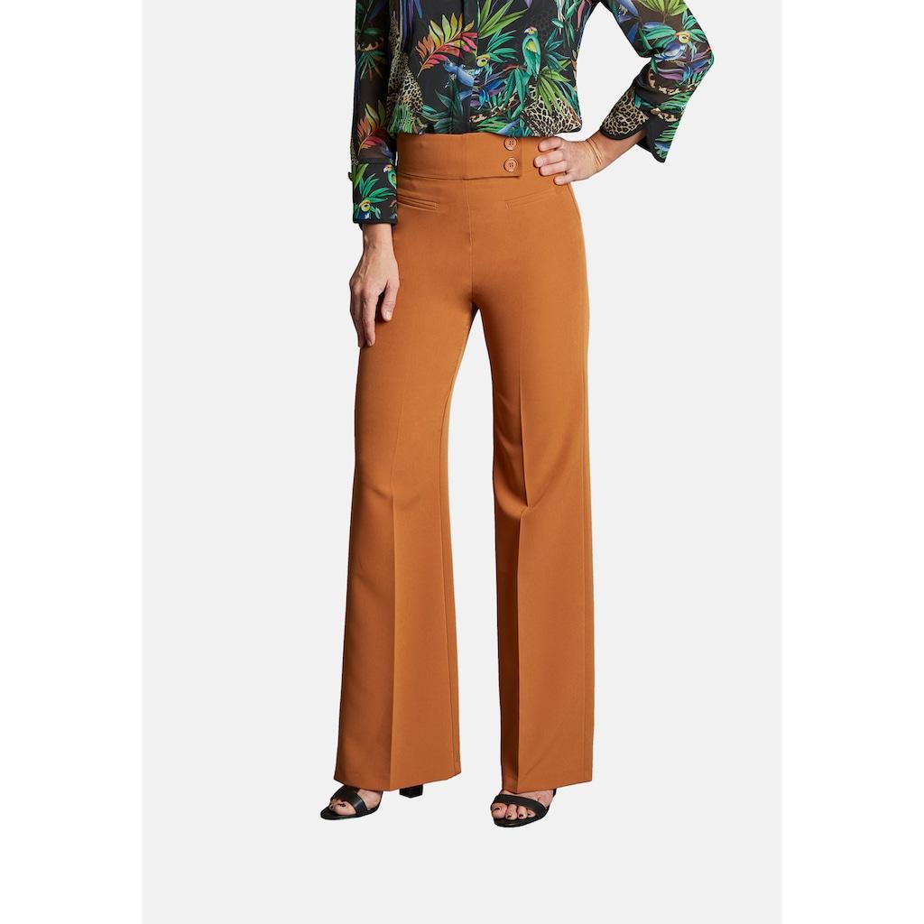 Nicowa Weite Hose mit unifarbenem Design - COREANA