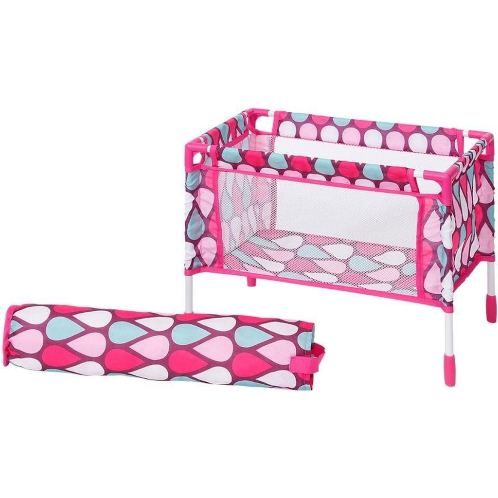 Knorrtoys® Puppen Reiseset »Puppenreiseset pink«