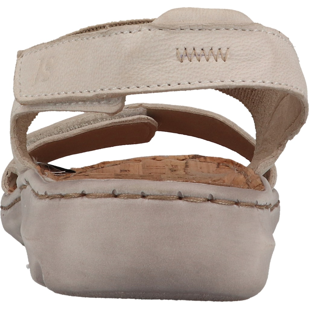 Josef Seibel Sandale »Leder/Textil«