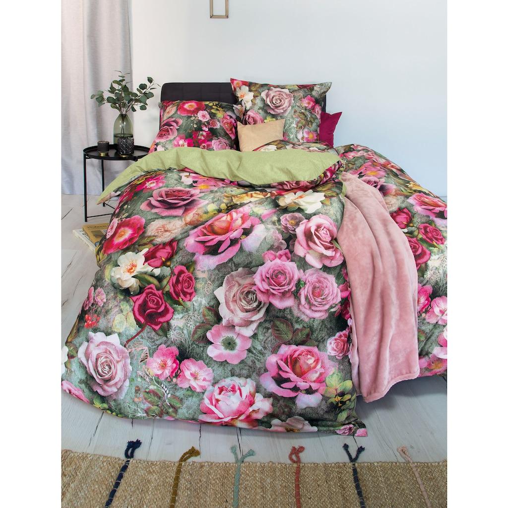 Irisette Wendebettwäsche »Peach 8824«, mit romantischem Blumenprint