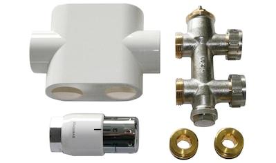 SZ METALL Heizkörperthermostat »Durchgangsanschluss »Universal«, weiß« kaufen