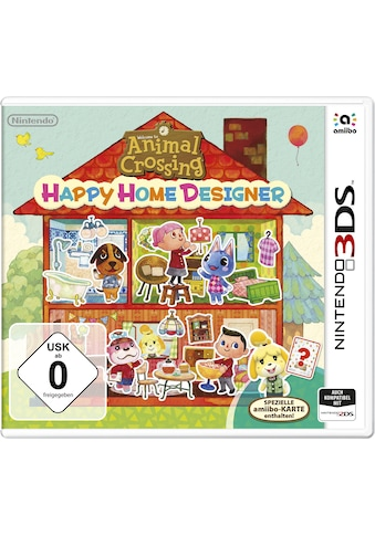 Nintendo 3DS Spiel »Animal Crossing Happy Home Designer«, Nintendo 3DS, inkl. Amiibo... kaufen