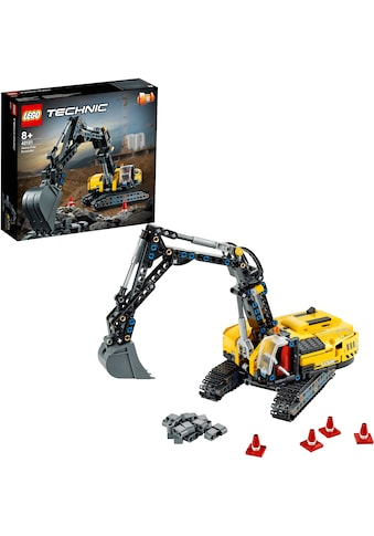 LEGO® Konstruktionsspielsteine »Hydraulikbagger (42121), LEGO® Technic«, (569 St.),... kaufen