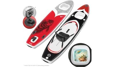 Sportstech Inflatable SUP - Board »WBX_REDFIREFISH«, Funboard , (Set, 9 - tlg., mit Paddel, Pumpe, Transportrucksack und Sitz) kaufen