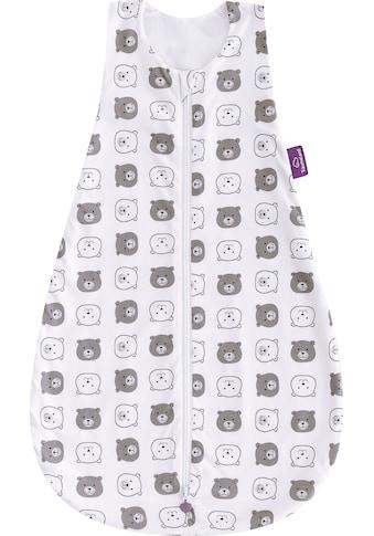 Träumeland Babyschlafsack »Sommerschlafsack LIEBMICH Baumwolle, Design Kleiner Bär«, (1 tlg.) kaufen