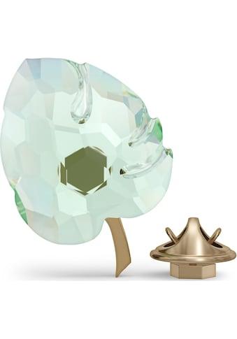 Swarovski Dekoobjekt »Jungle Beats Blatt Magnet, grün, groß, 5572156«, Swarovski® Kristall kaufen