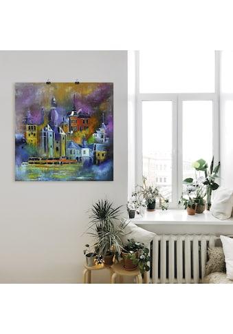 Artland Wandbild »Magische Stadt«, Europa, (1 St.), in vielen Größen & Produktarten -... kaufen