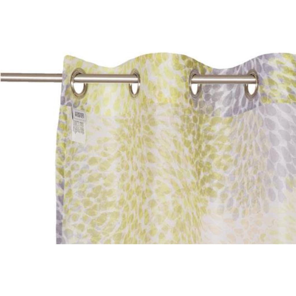 SCHÖNER WOHNEN-Kollektion Vorhang nach Maß »Sola«, mit zartem Blätterdruck