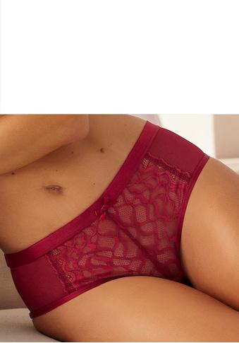 LASCANA Panty »Emiliana«, aus modernem Spitzenmix kaufen