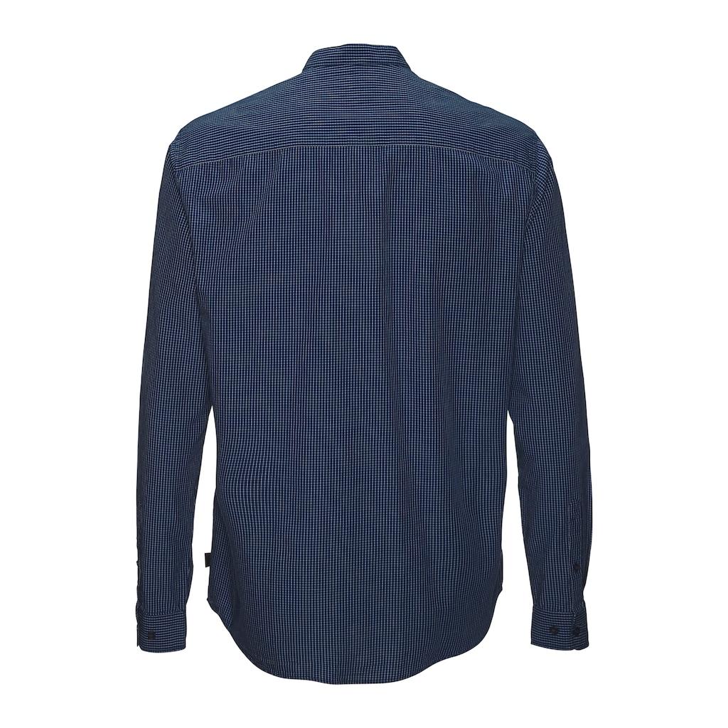 Esprit Langarmhemd, mit Stehkragen
