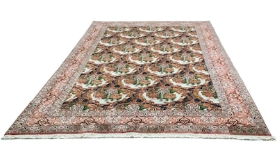 morgenland Wollteppich »Senneh Teppich handgeknüpft mehrfarbig«, rechteckig, 12 mm Höhe kaufen