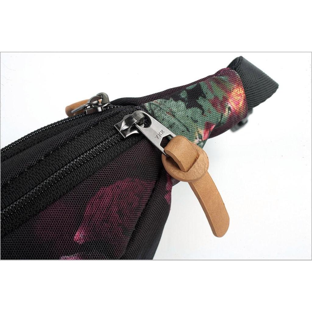 NITRO Gürteltasche »Hip Bag, Black Rose«