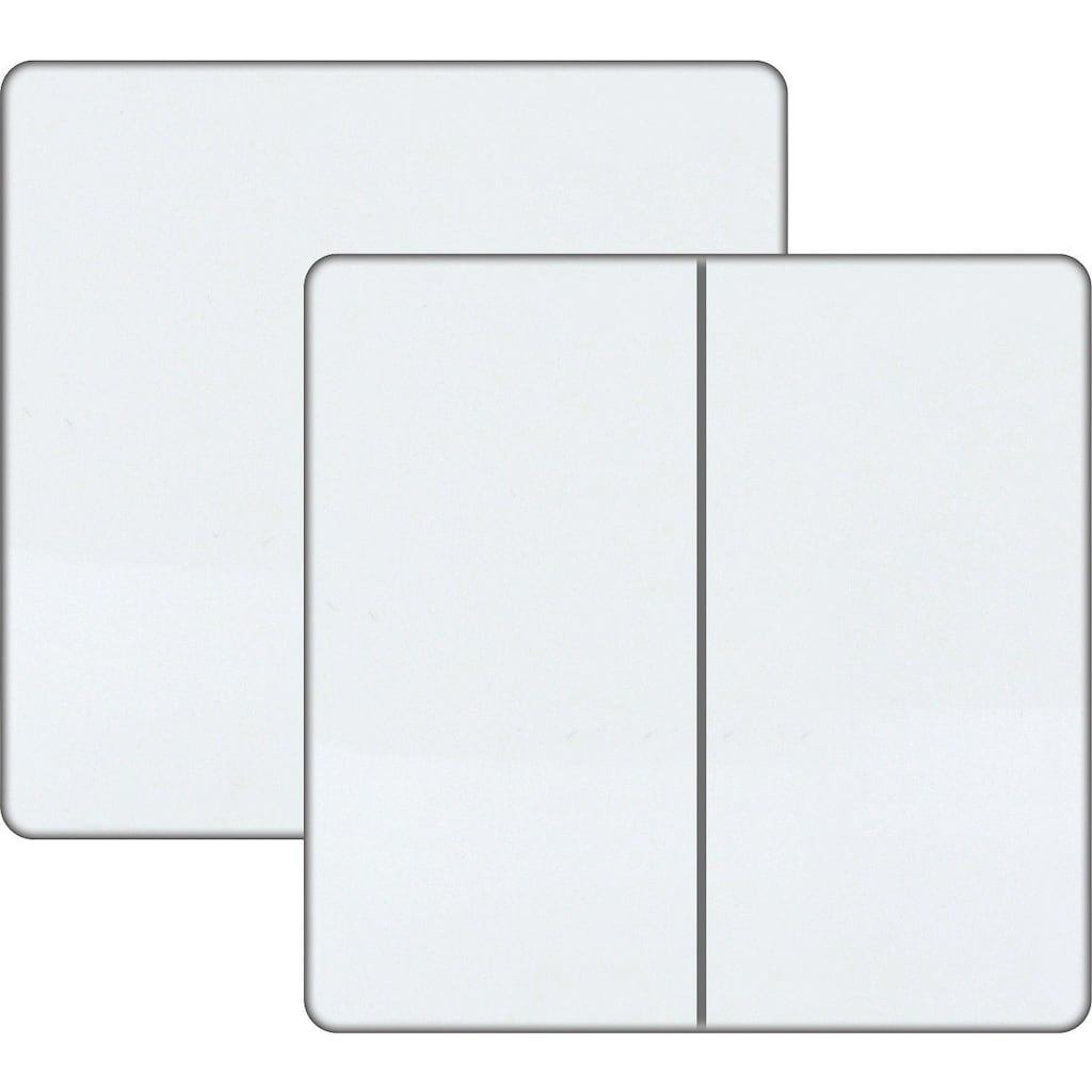 Schwaiger 1-fach/2-fach Funkwandschalter für eine