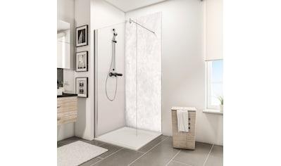 Schulte Duschrückwand »Decodesign«, Hochglanz, Stein Marmor-hell, 100 x 210 cm kaufen