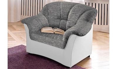 DOMO collection Sessel »Flores«, wahlweise mit Federkern (nicht bei Microfaser PRIMABELLE®-Struktur möglich) kaufen