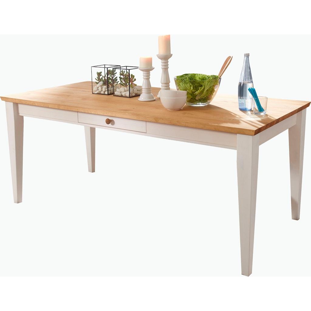Premium collection by Home affaire Esstisch »Marissa«, Landhaus-Design pur