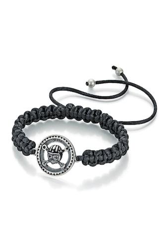 Walz Hardcore Cycles Armband »Zahnrad und Totenkopf, Silber 925« kaufen