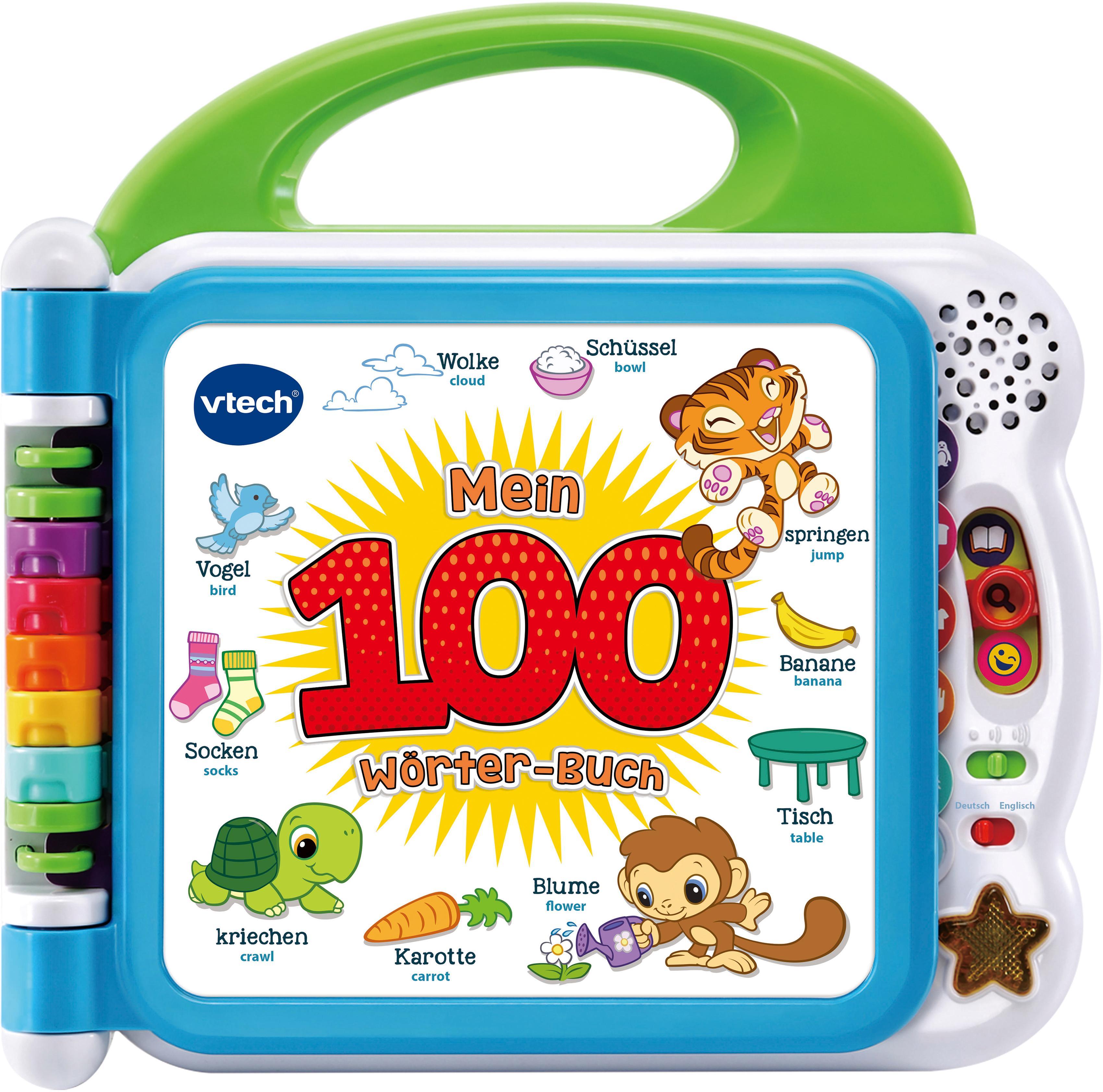 """Vtech Buch """"Mein 100-Wörter-Buch"""" Kindermode/Spielzeug/Lernspielzeug/Lernspiele"""