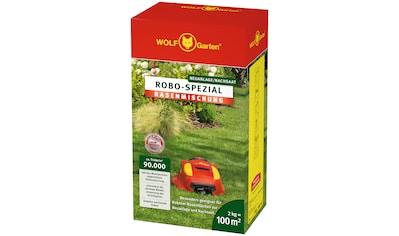 WOLF - GARTEN Nachsaatrasen »ROBO - Spezial«, in 2 Verpackungsgrößen kaufen
