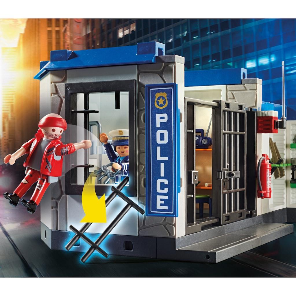 Playmobil® Konstruktions-Spielset »Polizei: Flucht aus dem Gefängnis (70568), City Action«, (161 St.), Made in Germany