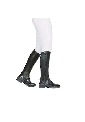 Dublin Beinstulpen »Evolution Unisex Leder Halb Chaps, Reißverschluss seitlich« kaufen