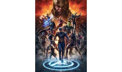 Komar Fototapete »Avengers vs Thanos«, bedruckt-Comic-Retro-mehrfarbig, BxH: 200x280 cm kaufen