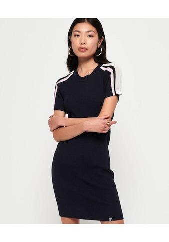 Superdry Strickkleid »SYDNEY RIB BODYCON DRESS« kaufen