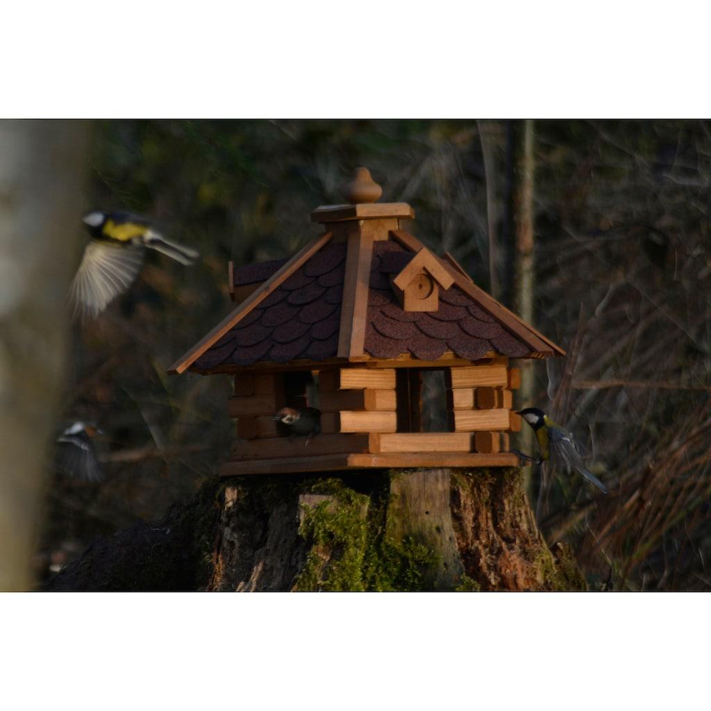 dobar Vogelhaus »Rustikal XL«, BxTxH: 51x45x37 cm