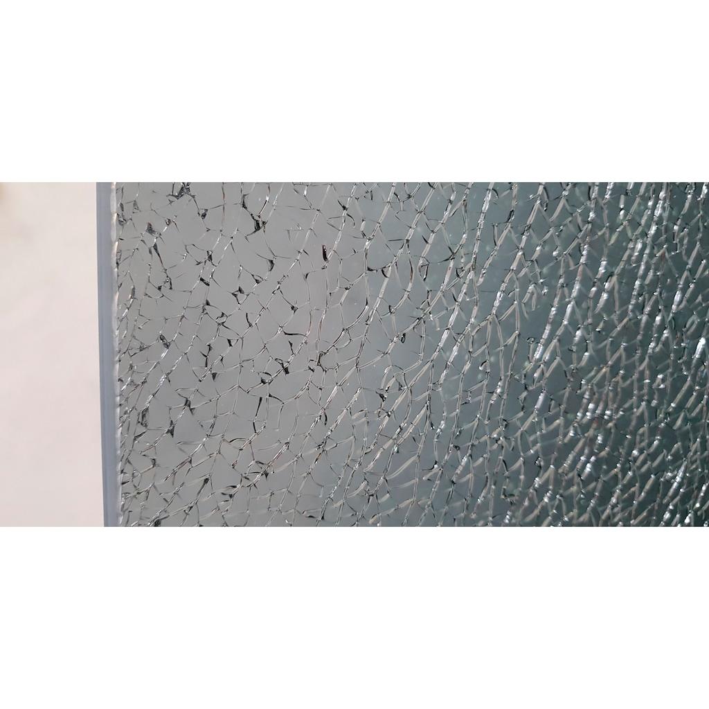 maw by GEO Walk-in-Dusche »flex A-W002CEG«, BxH: 140 x 200 cm, Crash-Glas Edelgrau