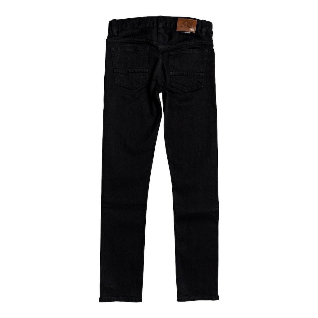 Quiksilver Skinny-fit-Jeans »Killing Zone Black Black«