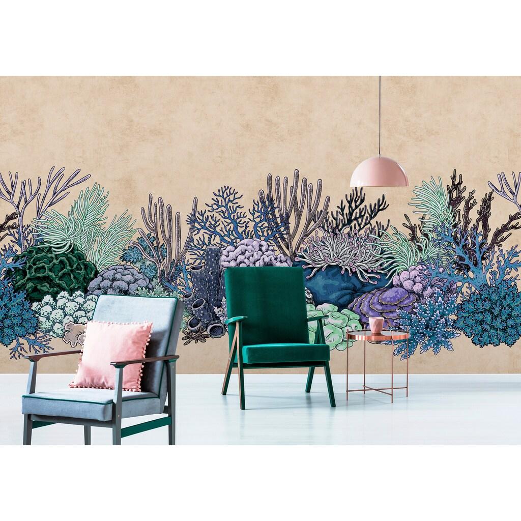 living walls Fototapete »Walls by Patel Octopus´S Garden 3«