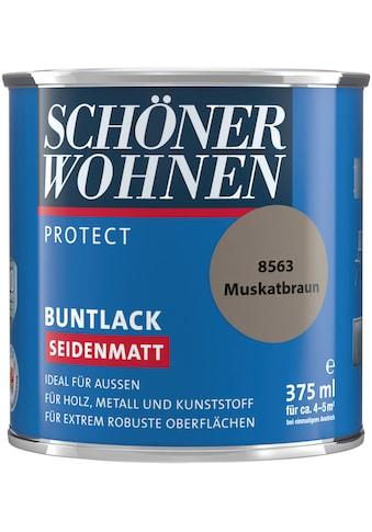 SCHÖNER WOHNEN-Kollektion Lack »Protect«, seidenmatt, 375 ml, muskatbraun kaufen
