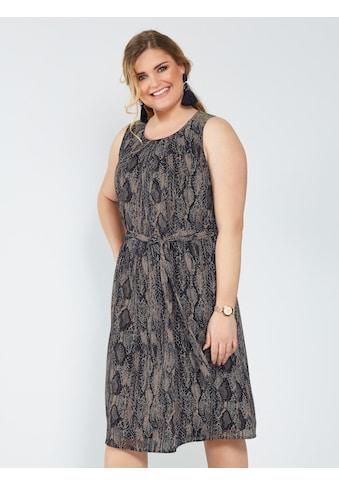 Sara Lindholm by Happy Size Maxikleid mit glänzenden Pailletten kaufen