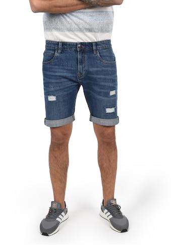 Indicode Jeansshorts »Hallow«, kurze Hose mit Destroyed-Effekten kaufen