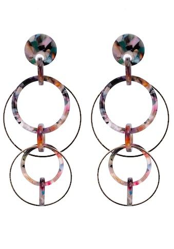 J.Jayz Paar Creolen »bunte, bewegliche Kreise« kaufen