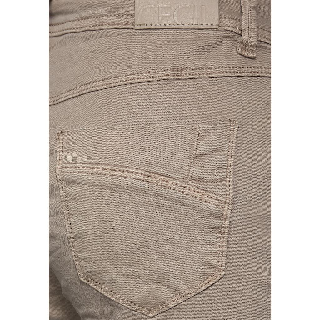 Cecil Röhrenhose, 5-Pockets Style