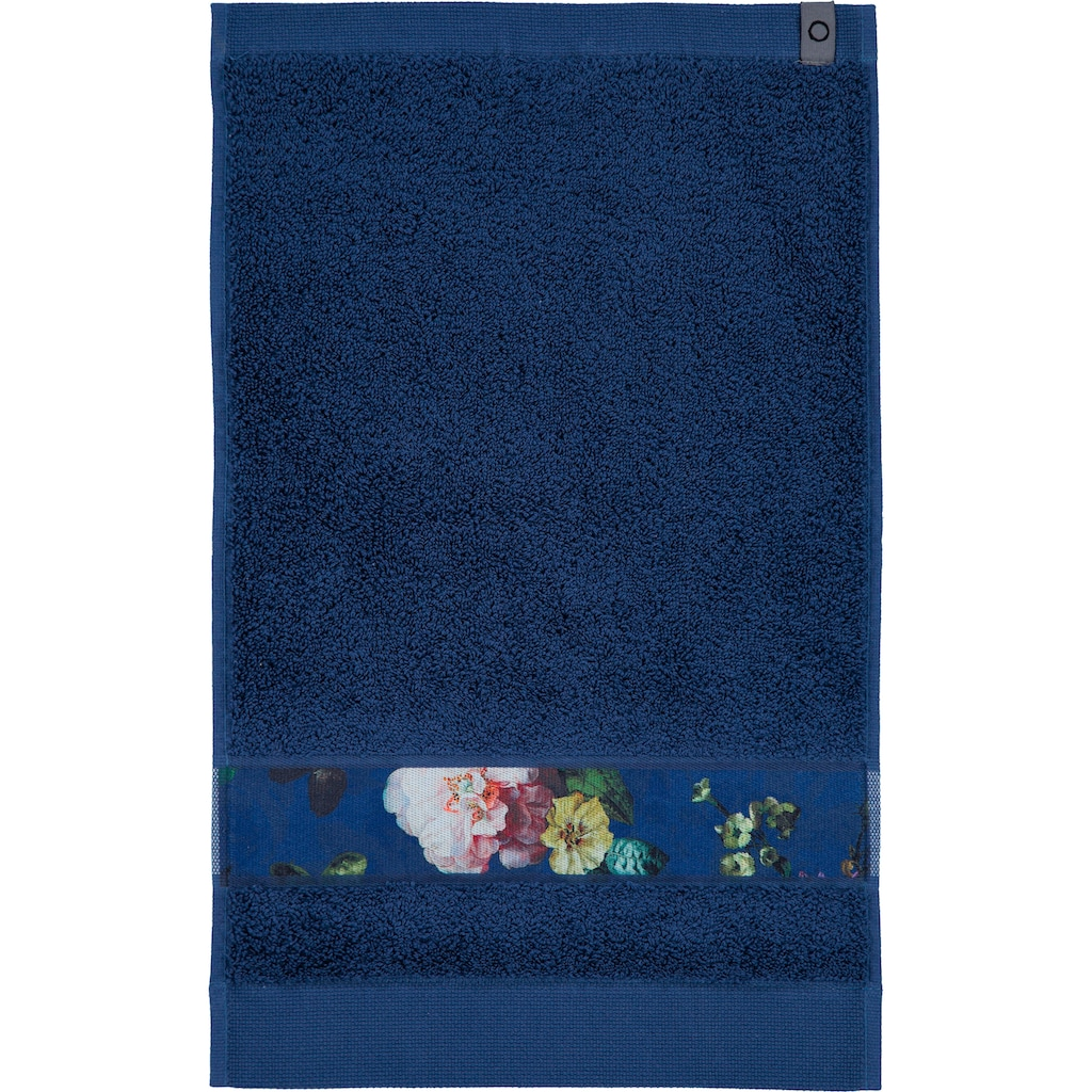 Essenza Gästehandtuch »Fleur«, (3 St.), Bordüre im wunderschönen Blumenprint